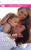 Boss On Notice (Mills & Boon Superromance) (The Cleaning Crew, Book 2)