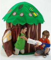 Bazoongi kids Speelhuisje poppentheater met handpoppen