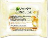 Garnier SkinActive Micellair Reinigingsdoekjes - 25 stuks