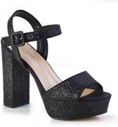 Fabulicious Hoge hakken -39 Shoes- CELESTE-09 Zwart