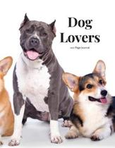 Dog Lovers 100 page Journal: Large notebook journal with 3 yearly calendar pages for 2019, 2020 and 2021 Makes an excellent gift idea for birthdays