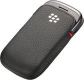 BlackBerry Leather Pocket - Zwart
