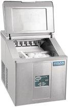 Polar tafelmodel ijsblokjesmachine 15kg