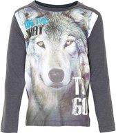 Minymo - jongens shirt - model Greg - grijs - Maat 152