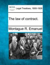 The Law of Contract.