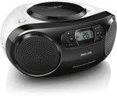 Philips AZ330T - Radio/CD-speler - Zwart