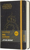 Moleskine Limited Edition Star Wars - 12 Months Daily Planner 2018 - Pocket - Zwart - Hard Cover