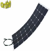 Ortho 100W flexibel zonnepaneel Ultra dun met MC4 conectoren Voor camper boot camping etc