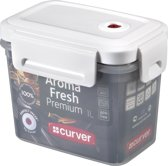 Curver Aroma Fresh Premium Vershouddoos - 1 ,0 l - Kunststof - Rechthoekig - Transparant/Wit
