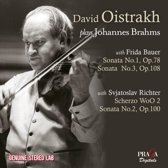 David Oistrakh Plays Brahms