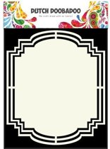 Dutch Doobadoo Dutch Shape Art frames label 2 A5