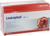 Leukoplast, hechtpleister zonder klemring 1,25cm x 9,2m, doosje 24 stuks