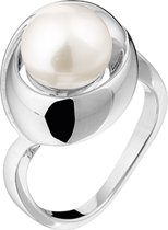 The Jewelry Collection Ring Parel - Zilver Gerhodineerd