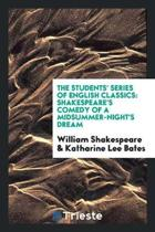 Shakespeare's Comedy of a Midsummer-Night's Dream;
