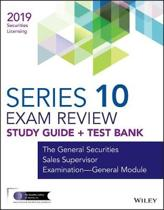 Wiley Series 10 Securities Licensing Exam Review 2019 + Test Bank