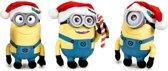 Minions - Despicable Me kerst pluche | set van 3 stuks
