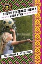 Het meidenteam 1 - Nieuwe voetbalschoenen voor Lynn