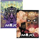 Mojo Girls - Schriften A5 - 2X 3 stuks - Lijn