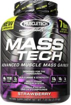 Muscletech Mass-Tech - 3200 gram - Strawberry