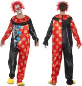 Deluxe Day of the Dead Clown Costume