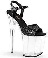 EU 35 = US 5 | FLAMINGO-810 | *8 Heel, 4 PF Ankle Strap Sandal