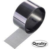 Hor Reparatie Tape – Plakkend - Eenvoudig uw hordeur, plissé schuifpui hor of raamhor repareren – Horgaas reparatietape - Grijs - Qwality4u