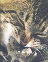 Journal: Cat Themed - Notebook for cat lovers - 8.5 x 11 inches - Perfect gift for a cat lover