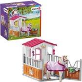 Schleich - Horse Club - Paardenbox met Lusitano merrie - 42368