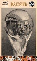 Hand met Spiegelende Bol - M.C. Escher (1000)
