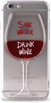 Puro Iphone 6 / 6S back Cover Save Water Drink Wine
