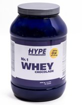 Hype Nutrition No.1 Whey 2 kg. Chocolade