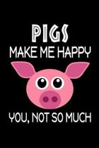 Pigs Make Me Happy, You, Not So Much