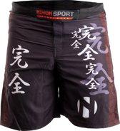 Nihon Fightshort Kanzen Heren Zwart Maat Xxl