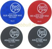 RedOne 4-Pack (Blue-Red-Grijs) Aqua Wax 150 ml