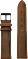 KANE Watches Vintage Brown Black Buckle Interchangeable Strap