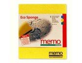 Spons Doekjes - 5 stuks Memo eco sponge
