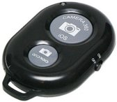 Bluetooth Remote Shutter Zwart - Selfie Afstandsbediening
