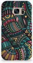 Samsung Galaxy S7 Hardcase Hoesje Design Aztec
