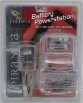 Piranha - Battery Powerstation voor game boy advance