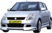 Carcept Voorspoiler Suzuki Swift 2005- excl. Facelift