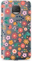 Motorola Moto G5S Plus Hoesje Always have flowers