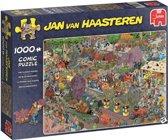 De Bloemencorso Jan van Haasteren Puzzel 1000 Stukjes