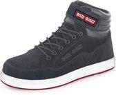 Result Heren Reflect Werkschoenen Hoog model  - Maat 47 - Zwart