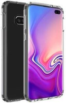 Benks Samsung Galaxy S10 Plus Case Magic Crystal Hard Cover Transparent + Full Adhesive Glass hoesje