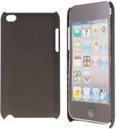 iPod Touch 4 Hard Case Hoesje - Special Mat Zwart