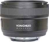 Yongnuo AF-S 50mm F/1.8 voor Nikon FX, DX