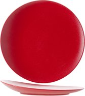 Cosy&Trendy For Professionals Dazzle Red Plat Bord - Ø 27 cm