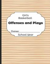 Girls Basketball Offenses and Plays Dates