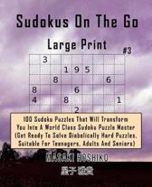 Sudokus on the Go - Large Print #3