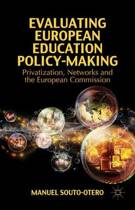 Evaluating European Education Policy-Making